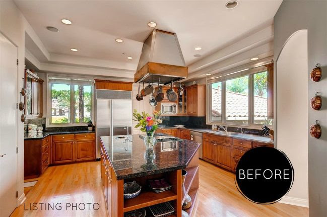 Rancho Santa Fe Kitchen Remodel Before After San Diego