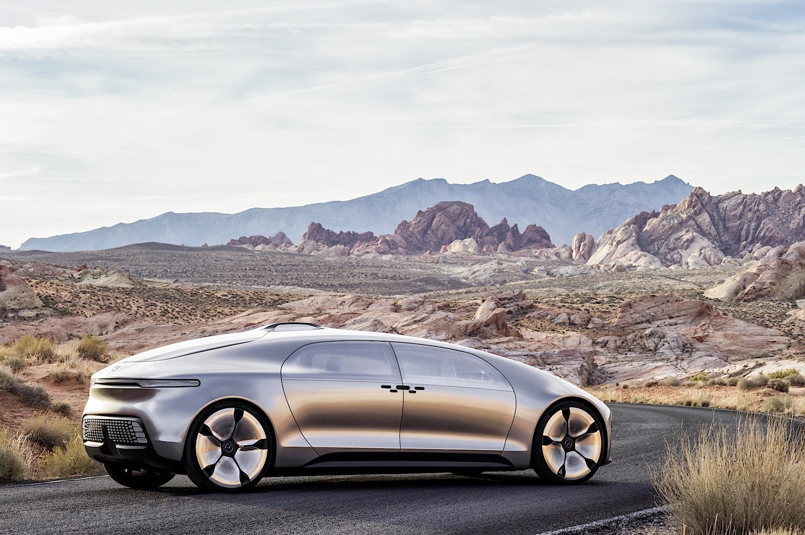 Mercedes-Benz Unveils F 015 Mystery Concept at 2015 CES ...