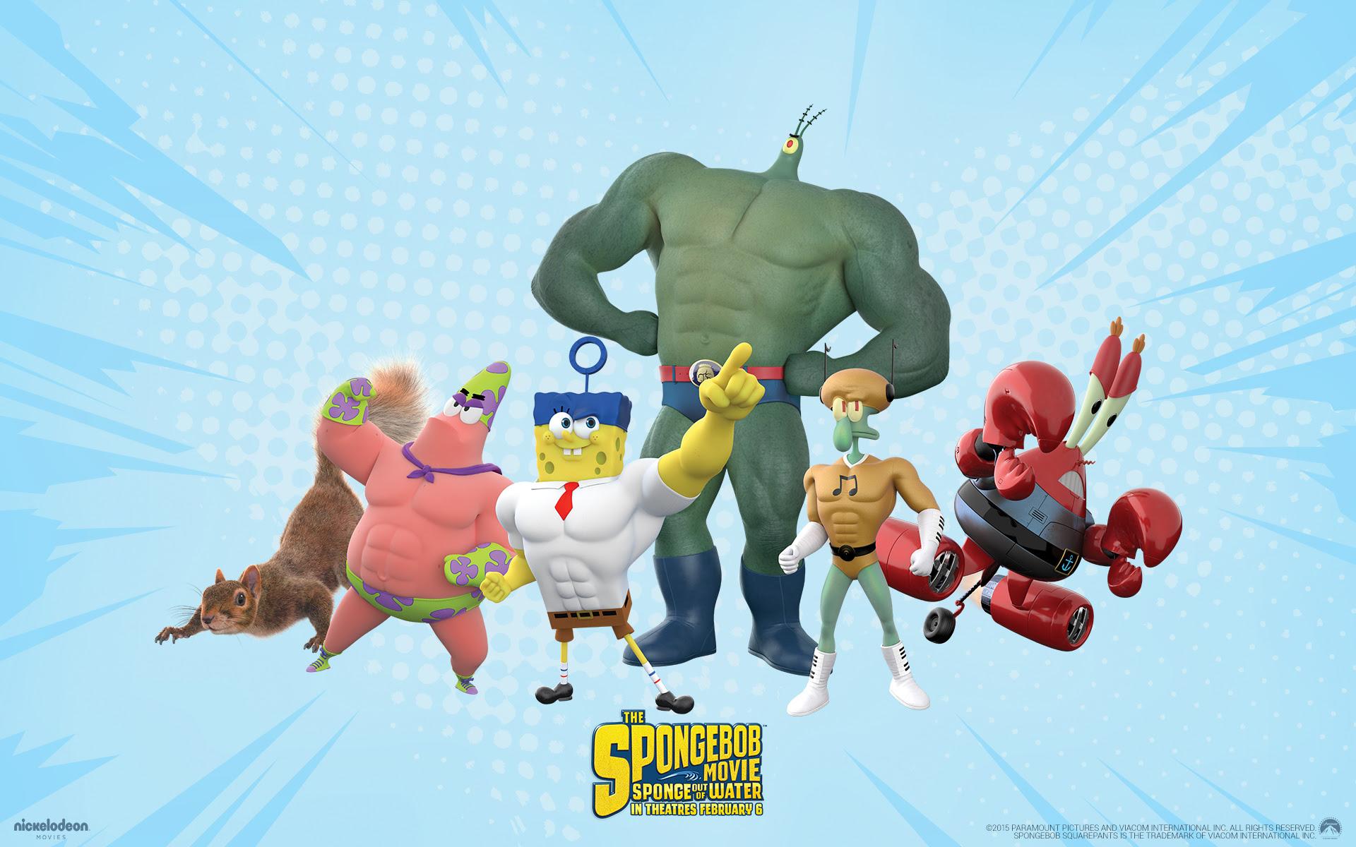 Spongebob Squarepants Sponge Out Of Water Spongebob Squarepants