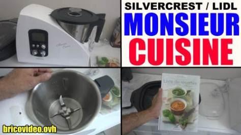 monsieur cuisine lidl silvercrest robot multifonctions menager skmh 1100 a1 test avis prix notice et caractéristiques