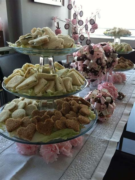 high tea Baby Shower Party Ideas   Photo 6 of 24   Catch