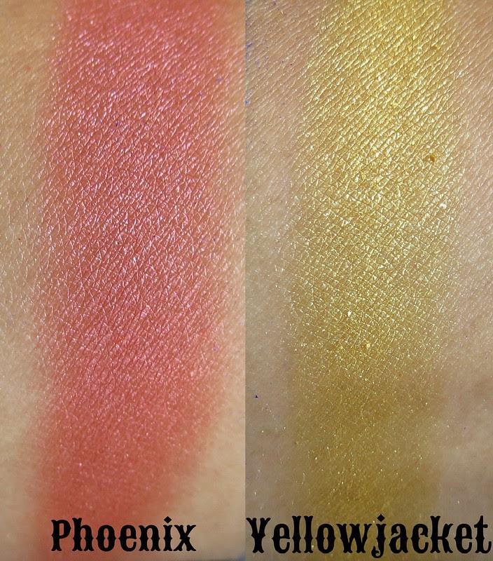 Venomous Cosmetics Phoenix and Yellowjacket