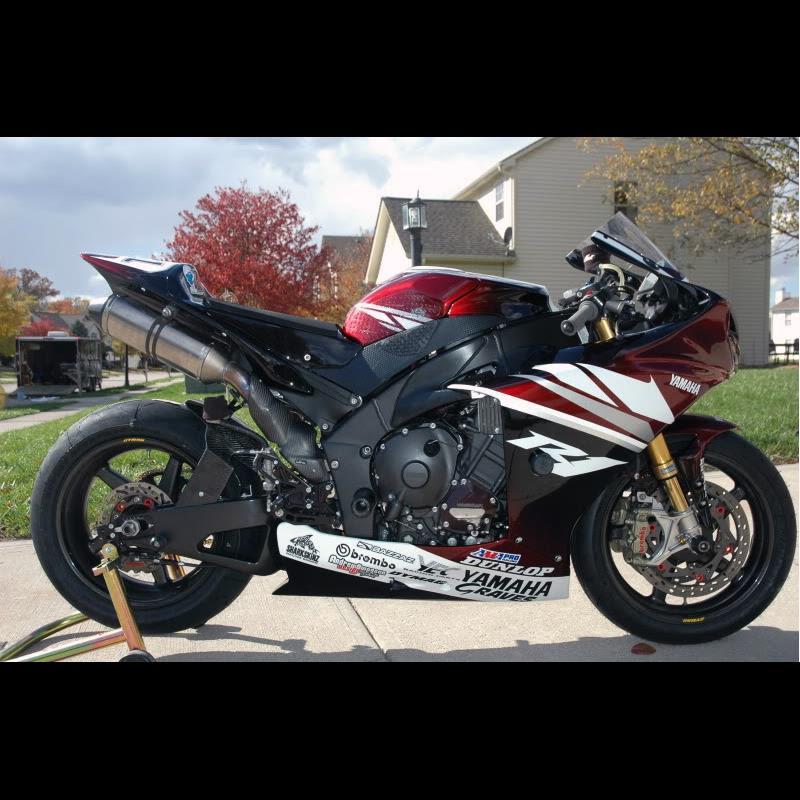 Custom Motorcycle Decal Packages \u2013 DrippinWet