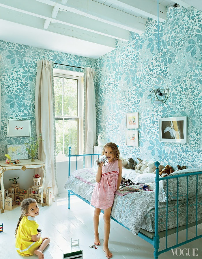 Vogue American Pastoral Miranda Brooks and Bastien Halard's Brooklyn Home 6