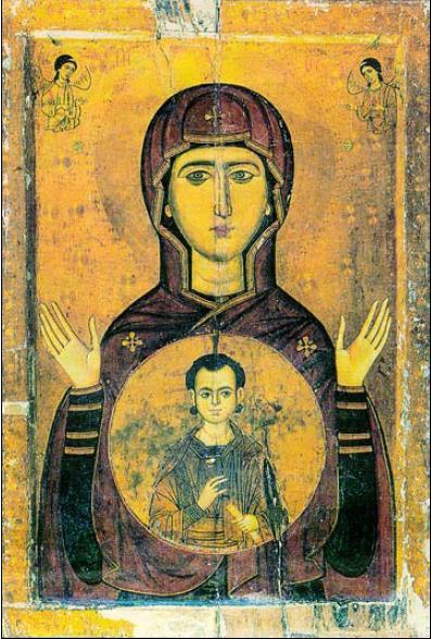 3. Εικόνα της Παναγίας Βλαχερνίτισσας, τέλη ΙΓ' αι.