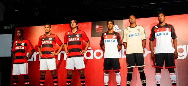 lançamento Camisa Flamengo (Foto: Marcelo de Jesus)