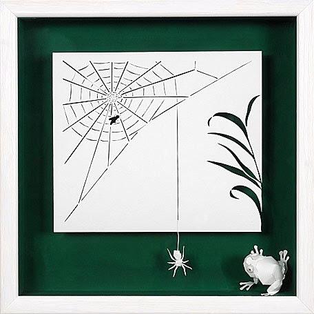 Картины из бумаги Изящные картины из бумаги. Очень красиво, необычно, талантливо.