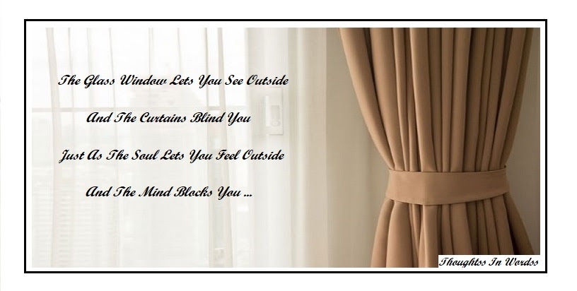 Quotes Lifes Curtains