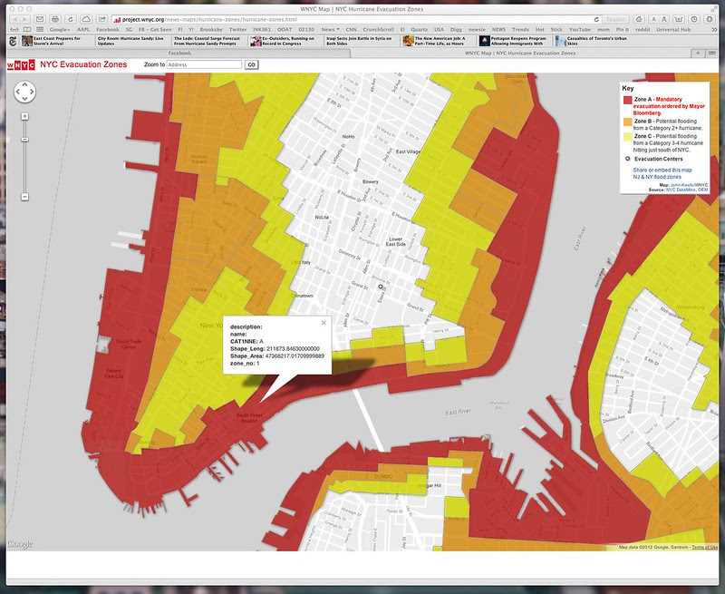 NYC Hurricane Evacuation Zones