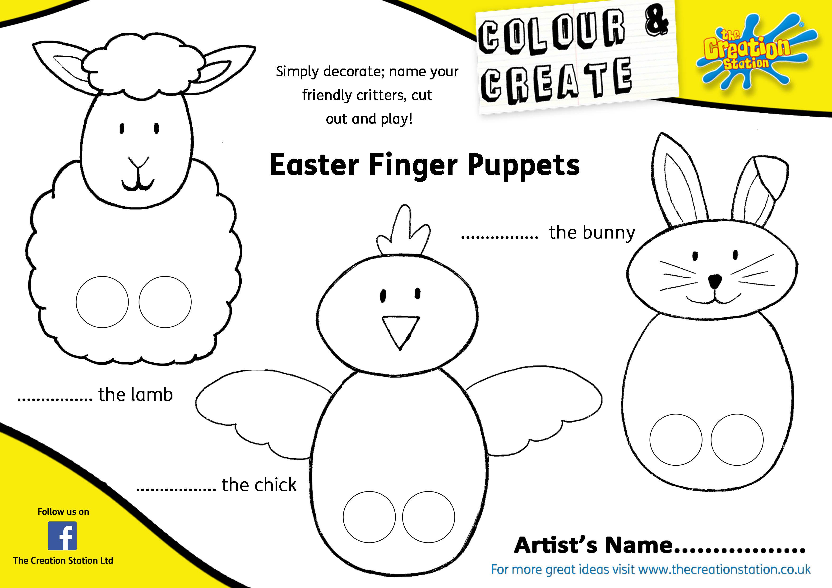 easter finger puppets1