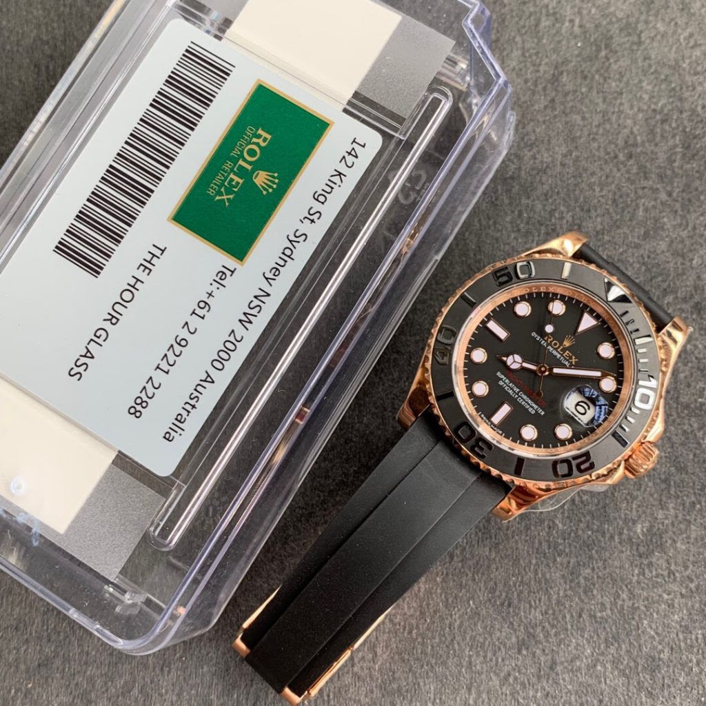 AR YachtMaster Rose Gold