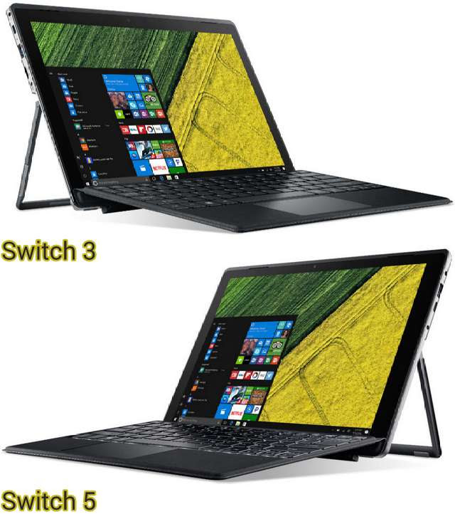 Acer Switch 3 and Switch 5 CCN