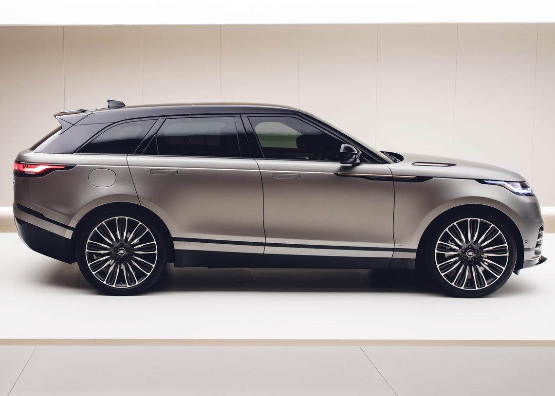Land Rover's New Range Rover Velar Unveiled - Just British