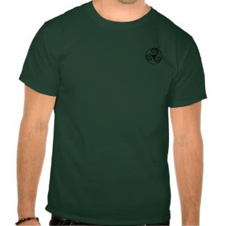 Celtic Triskele Shirt shirt