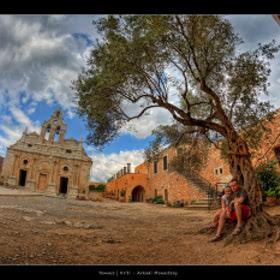 Arkadi Monastery by Pawel Tomaszewicz (PawelTomaszewicz) on 500px.com