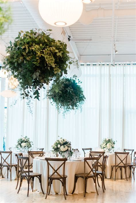 Organic Greenhouse Loft Wedding Filled with Greenery