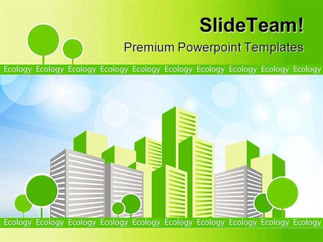 Green City Environment Powerpoint Themes And Powerpoint Slides Ppt Authorstream