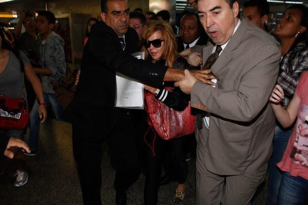 Lindsay Lohan em SP (Foto: Manuela Scarpa e Marcos Ribas /Foto Rio News)