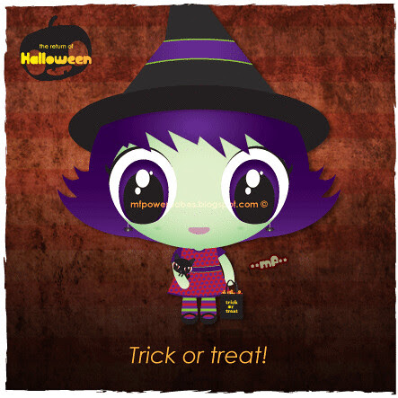 This witch is going trick or treat