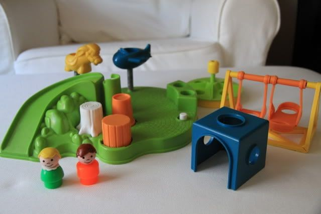 Anne's Odds and Ends: Fisher Price Fridays - Little People Playground