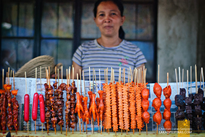 Street Food at President Roxas in Capiz