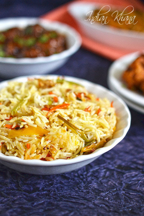 Vegetable Fried Rice Recipe