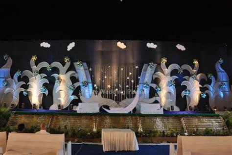 Celestial Moon Theme   Wedding Stage Decoration Ideas Post