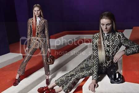 Prada Fall 2012 Ad Campaign Stars Anne V