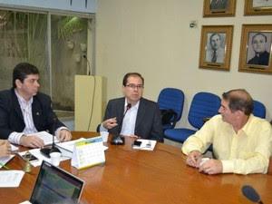 Reunião do Consepe aconteceu nesta quarta-feira na UERN (Foto: Divulgação/UERN)