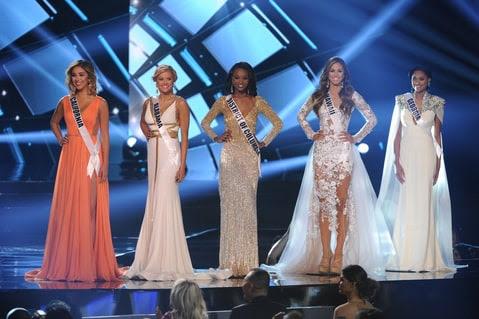 ملكة جمال الولايات المتحدة 2016 أعلى 5 النهائية