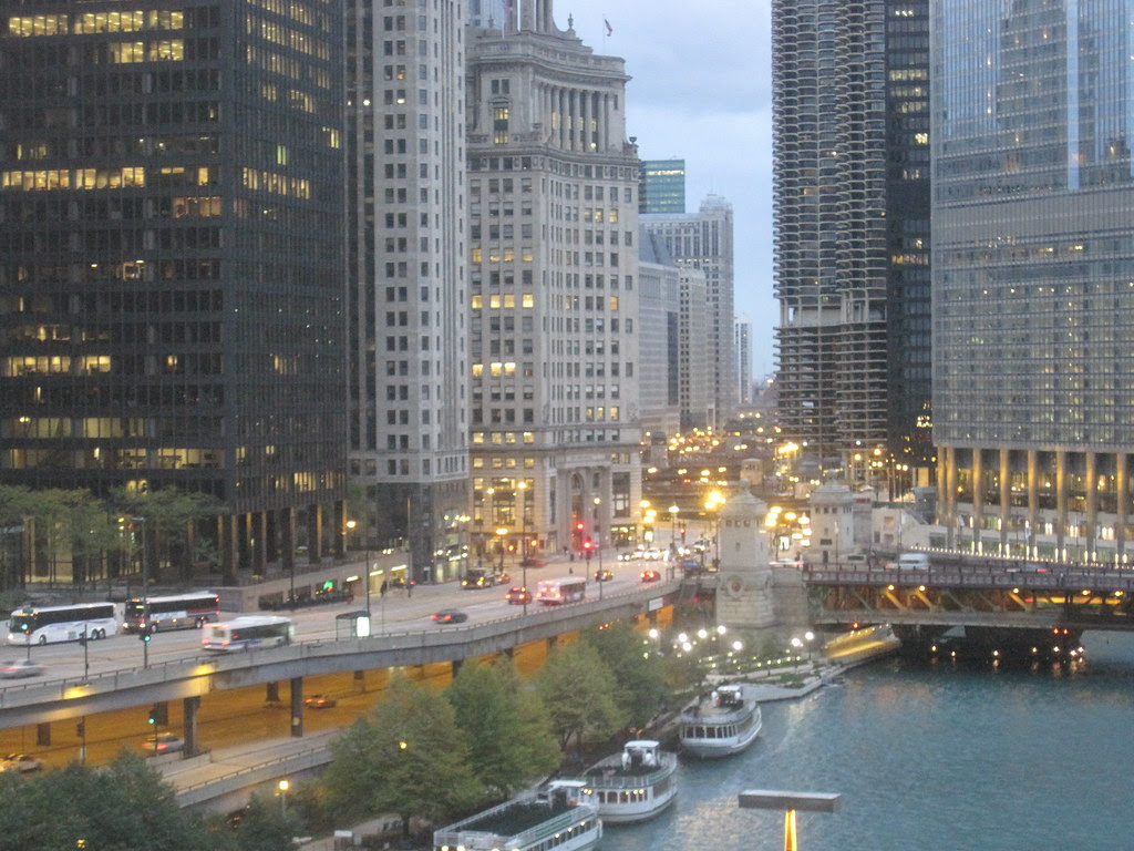 Early morning rush, Chicago