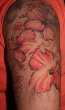 Popular Hawaiian Flower Tattoos Tattoo Artist Ideas