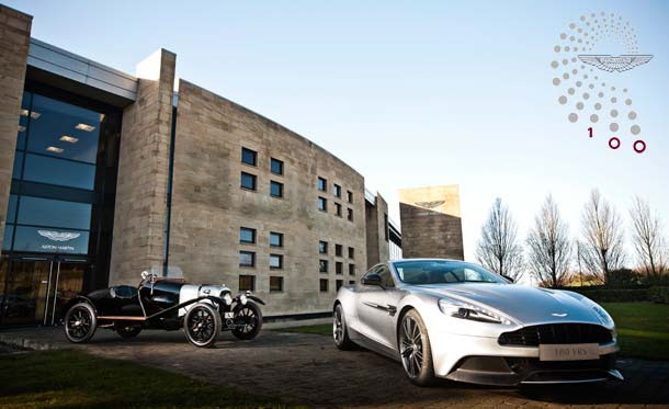 Aston Martin Celebrates Its First 100 Years