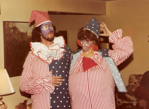 Mom and Dad in Costume - 1981