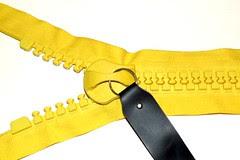 giant #30 gauge zippers = yellow