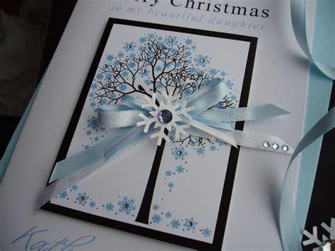 "Handmade Christmas Card ""Snowflake Tree""   Handmade Cards"