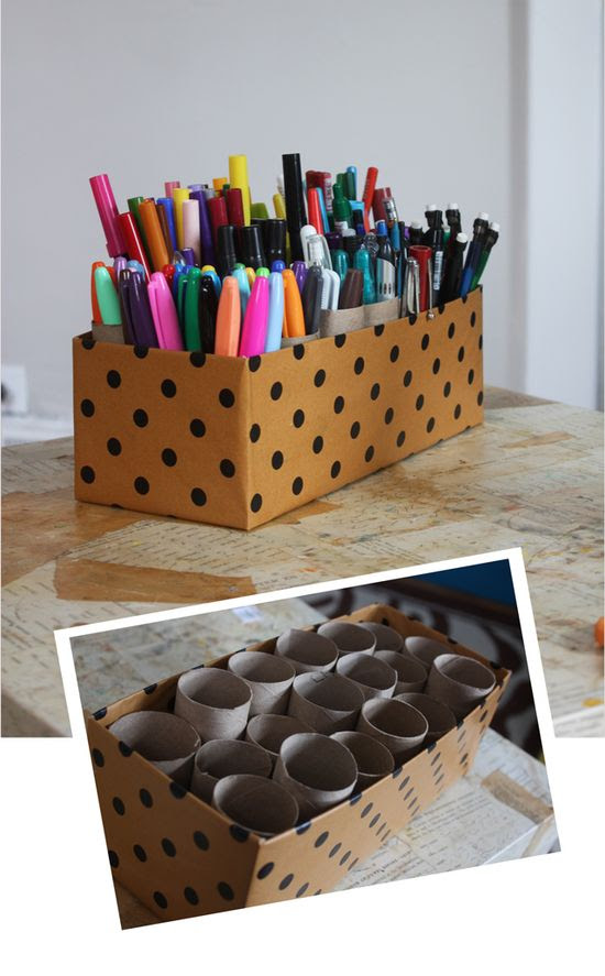 10 Minute Marker Caddy - maybe this can get a handle on the art bin.