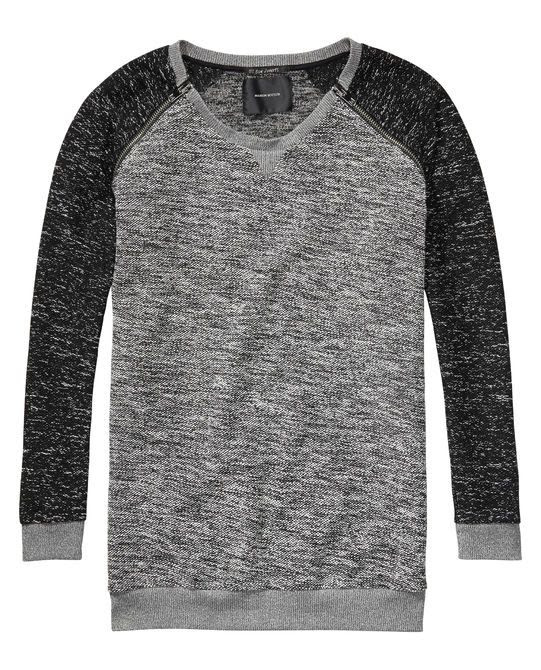 Maison Scotch Long Boucle Sweater