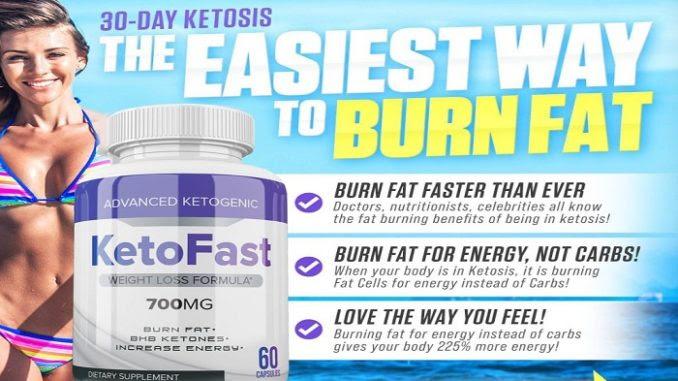 Keto Fast Pills Reviews: Is Keto Fast Diet Pills Safe?