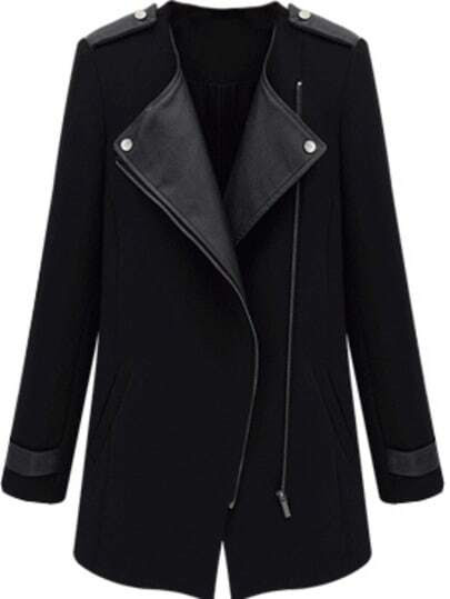 http://www.shein.com/Black-Contrast-PU-Leather-Trims-Oblique-Zipper-Coat-p-146981-cat-1735.html?aff_id=1285