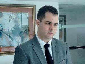 Cristiano Feitosa assumiu a Sejuc na última sexta-feira (23) (Foto: Fernanda Zauli/G1)