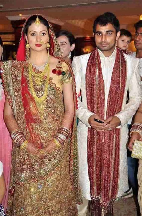 Photos And Info Of Mohammed Shami?s Wedding And His Wife