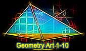 Online Geometry Problem Art 1-10.