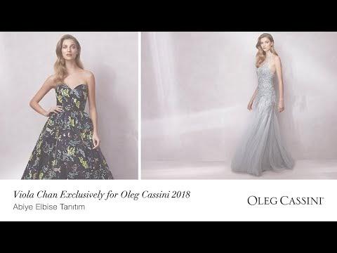 Viola Chan Exclusively for Oleg Cassini 2020 | Abiye Elbise Tanıtım