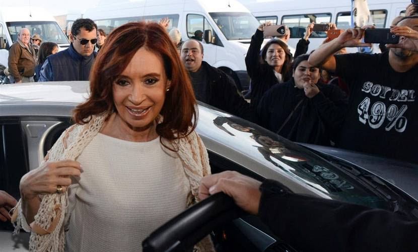 Ex presidenta Cristina Kirchner. AP