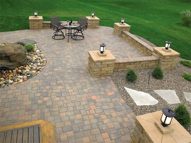 Paver Patio Design Ideas
