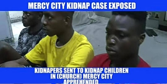 Confusion Overtakes Child Abductors/Ritualist, Set to Strike in Prophet Jeremiah Fufeyin's Mercy City Church, Warri, Delta State, Nigeria Video).