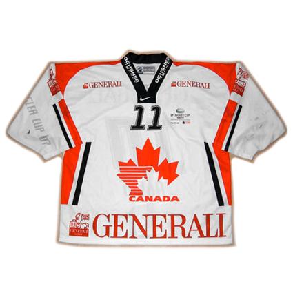 Team Canada 2007 Spengler Cup jersey