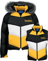 Pittsburgh Steelers Women's 4-In-1 Jacket