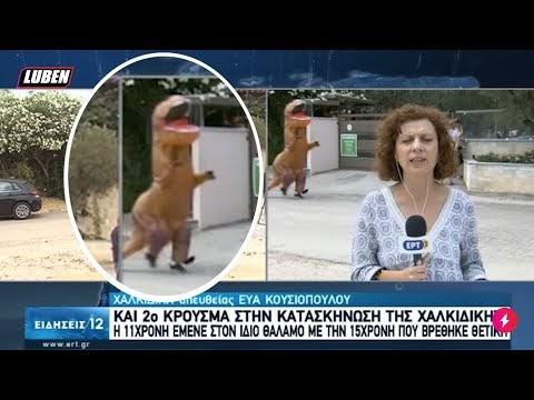 Δεινόσαυρος πέρασε πίσω από ρεπόρτερ της ΕΡΤ σε ζωντανή σύνδεση